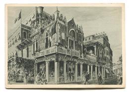 Venezia / Venice - Albergo Ristorante Hotel Principe, Canal Grande - Old Modern-size Advertising Postcard - Venezia (Venice)
