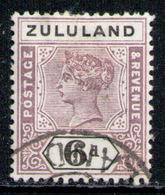 ZULULAND 1894 - From Set Used - Zululand (1888-1902)