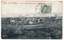 CPA - ISRAEL - HAIFA - Deutsche Kolonie - Colonie Allemande à Caifa - Beau Cachet CAIFA SYRIE 1912 Sur 5c Blanc Levant - Israel