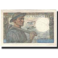 France, 10 Francs, 10 F 1941-1949 ''Mineur'', 1945-04-26, SPL, Fayette:8.14 - 1871-1952 Anciens Francs Circulés Au XXème