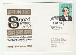 1973 HEREFORD SYNOD PHILATELIC  EXHIBITION  13th Century CELEBRATIONS  EVENT Cover  Gb Stamps Cover - Esposizioni Filateliche