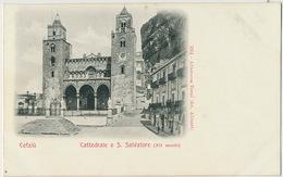 Cefalu Cattedrale O S. Salvatore  1551 Aletrocca Terni Fot Alinari Undivided Back - Other Cities
