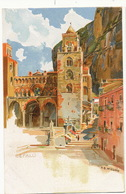 Cefalu Art Card Color By H.B. Wieland  Undivided Back - Other Cities