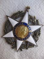 Médaille Commandeur De L'Ordre Du Mérite Agricole 1900 - France