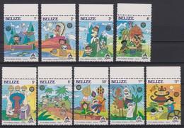 2112 Walt Disney Belize ( CHRISTMAS 1985 ) IT'S A SMALL WORLD. - Disney