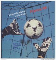 Collector Des Timbres De La XVIème Coupe Du Monde De Football 1998 - - Collectors