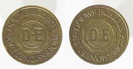 00251 GETTONE TOKEN JETON NETHERLANDS ADVERTISING VENDING DOUWE EGBERTS PROFESSIONEEL B.V. - Zonder Classificatie