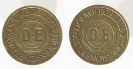 00251 GETTONE TOKEN JETON NETHERLANDS ADVERTISING VENDING DOUWE EGBERTS PROFESSIONEEL B.V. - Unclassified
