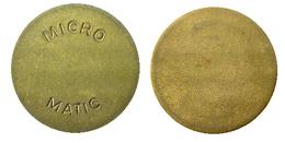 00372 GETTONE TOKEN JETON NETHERLANDS ADVERTISING VENDING MICRO MATIC - Unclassified