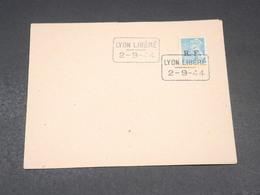 FRANCE - Type Mercure Avec Surcharge De Lyon Sur Enveloppe En 1944 - L 19338 - Liberation