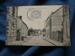 Trainel  Rue Du Vieux Chatel - Animée - Coll. Boudier - Circulée 1906 - R184 - Altri Comuni