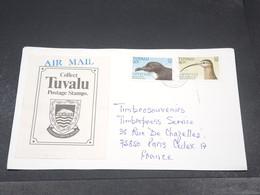 TUVALU - Enveloppe Pour La France , Affranchissement Plaisant - L 19341 - Tuvalu