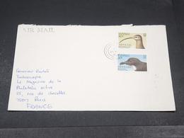TUVALU - Enveloppe Pour La France En 1991 , Affranchissement Plaisant - L 19342 - Tuvalu