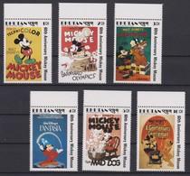 2118 Walt Disney BHUTAN  ( 60 Th ANNIVERSARY MICKY MOUSE ) - Disney
