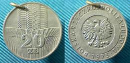 03436  MEDAL COIN POLONIA POLAND 20 ZOTL POLSKA 1973 - Unclassified