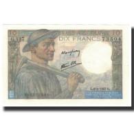 France, 10 Francs, 10 F 1941-1949 ''Mineur'', 1947-01-09, NEUF, Fayette:8.17 - 1871-1952 Anciens Francs Circulés Au XXème