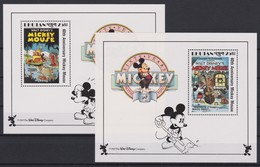 2119 Walt Disney BHUTAN  ( 60 Th ANNIVERSARY MICKEY MOUSE ) - Disney