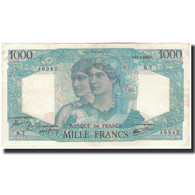France, 1000 Francs, 1 000 F 1945-1950 ''Minerve Et Hercule'', 1945-04-12, TB+ - 1871-1952 Antichi Franchi Circolanti Nel XX Secolo