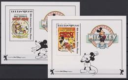 2120 Walt Disney BHUTAN  ( 60 Tth ANNIVERSARY MICKEY MOUSE ) - Disney