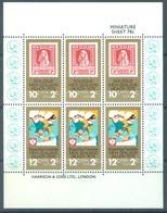 NEW ZEALAND - MNH/** - 1978 - HEALTH - Yv Bloc 42 Mi 751-752 SG MS1181 Sc B102a  - Lot 17132 - Blocks & Sheetlets