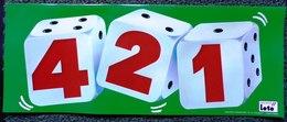 FDJ PUBLICITÉ PLASTIFIÉE 2 VOLETS PLV 421 DIMENSIONS 40,5X16X2 FRANCE LOTO FRANÇAISE DES JEUX - NOTRE SITE Serbon - Lottery Tickets