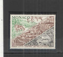 Monaco PO 1972 Lotta Contro Inquinamento Scott.827+See Scan On Album Page; - Monaco