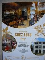 CHEZ LULU / Bistro / Restaurant / Hoeilaart - Publicité