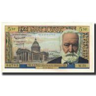 France, 5 Nouveaux Francs, 5 NF 1959-1965 ''Victor Hugo'', 1961-06-01, SPL - 5 NF 1959-1965 ''Victor Hugo''