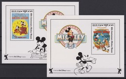 2123 Walt Disney BHUTAN  ( 60 Th ANNIVERSARY MICKEY MOUSE ) - Disney