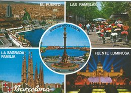 Barcelona - Views. Spain. # 07699 - Barcelona
