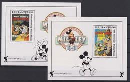 2124 Walt Disney BHUTAN  ( 60 Th ANNIVERSARY MICKEY MOUSE ) - Disney