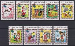 2125 Walt Disney  CAICOS ISLANDS  ( SANTA CLAUS IS COMING TO TOWN ) - Disney
