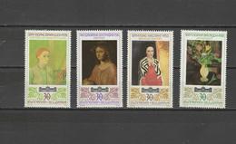 Bulgaria 1990 Paintings Set Of 4 MNH - Arts