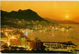 CHINA  CINA  HONG KONG  Overlooking The Central And Eastern District - China (Hong Kong)