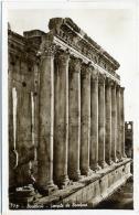 LIBAN  LEBANON BAALBEK  Temple Du Bacchus - Libano