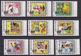 2126 Walt Disney  CAICOS ISLANDS  ( SANTA CLAUS IS COMING TO TOWN ) - Disney