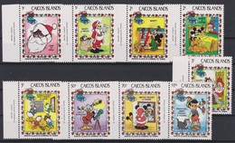 2127  Walt Disney  CAICOS ISLANDS  ( SANTA CLAUS IS COMING TO TOWN ) - Disney