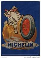 """Petite Plaque Métal """"MICHELIN"""" - Plaques En Tôle (après 1960)"""