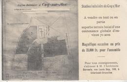De Haan - Station Balnéaire De Coq S/Mer - 1912 - De Haan