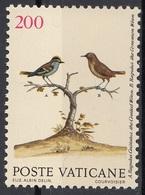 Vaticano 1989 Blf. 858 Uccelli Birds Regolo Crestato - Regulus Regulus Nuovo - Sparrows