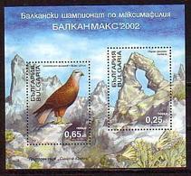 Balkanmax 2002  - Bulgaria / Bulgarie 2002 -  Block MNH** - Bulgarie