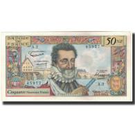 France, 50 Nouveaux Francs, 50 NF 1959-1961 ''Henri IV'', 1959-03-05, SPL - 1959-1966 Nouveaux Francs