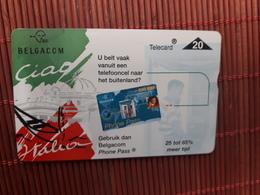 S 183 Ciao Italia 801 K Good Number  (Mint,Neuve)  Low Issue Rare - Belgium