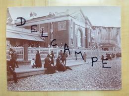 76 LE TREPORT 1900 CASINO - TIRAGE ALBUMINE  PHOTO - Le Treport