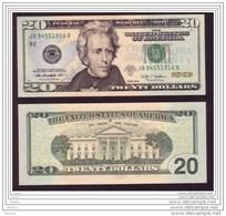USA, 20$, 2009, UNCL, Non Circulé, Uncirculated - Federal Reserve Notes (1928-...)