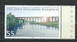Germany 2003 The 150th Anniversary Of The Enzviadukt Bietigheim.Architecture/Bridges MNH - [7] Federal Republic