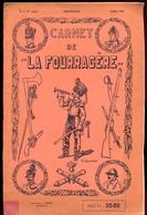 """Carnet De """"La Fourragère"""" - Histoire Militaire Belge. - Histoire"""