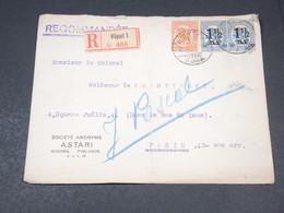 FINLANDE - Enveloppe Commerciale En Recommandé De Viipuri En 1925 Pour La France - L 19382 - Finland