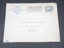 BELGIQUE - Enveloppe Commerciale ( Illustrée Au Verso ) De Bruxelles Pour La France - L 19383 - Belgium