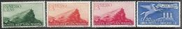 San Marino  1945    Sc#E12-4 MH,  E16 MNG  Express Mail  2016 Scott Value $5 - Timbres Express